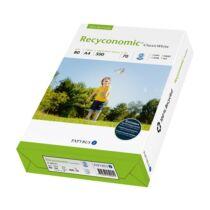 Fénymásolópapír RECYCONOMIC ClassicWhite ISO 70-s A/4 újrahasznosított 80 gr 500 ív/csomag