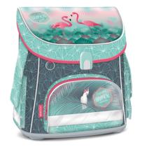 Iskolatáska ARS UNA kompakt mágneszáras Pink Flamingo