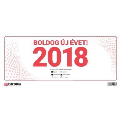 ASZTALI NAPTÁR FORTUNA 24 TA 2018