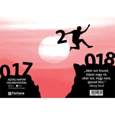 ASZTALI NAPTÁR FORTUNA 23 TA 2018 HOLDFÁZISSAL