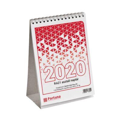 Asztali naptár Fortuna BA21 2020.