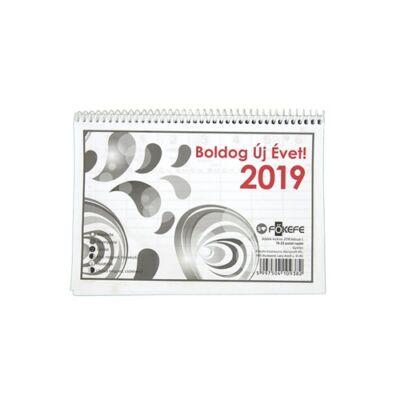 Asztali naptár Fortuna TA23 2019.