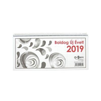 Asztali naptár Fortuna TA24 2019.