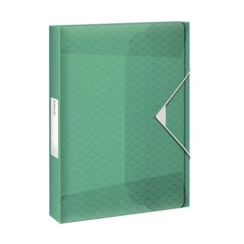 Gumis mappa ESSELTE Colour`Ice Jumbo Plus A/4 40mm PP zöld