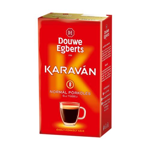 Kávé őrölt DOUWE EGBERTS Karaván 250g