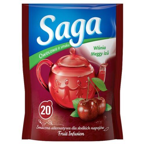 Gyümölcs tea SAGA Meggy 20 filter