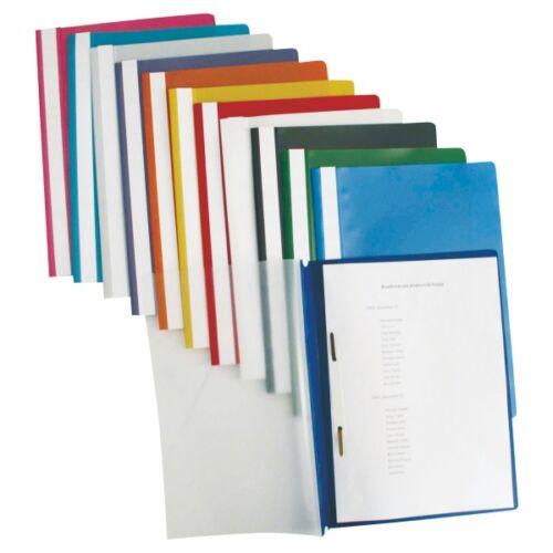 Gyorsfűző ESSELTE Standard műanyag lila 25 db/csomag