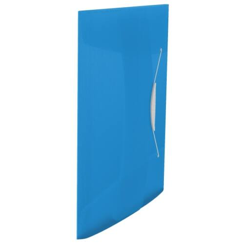 Gumis mappa ESSELTE Vivida A/4 műanyag kék
