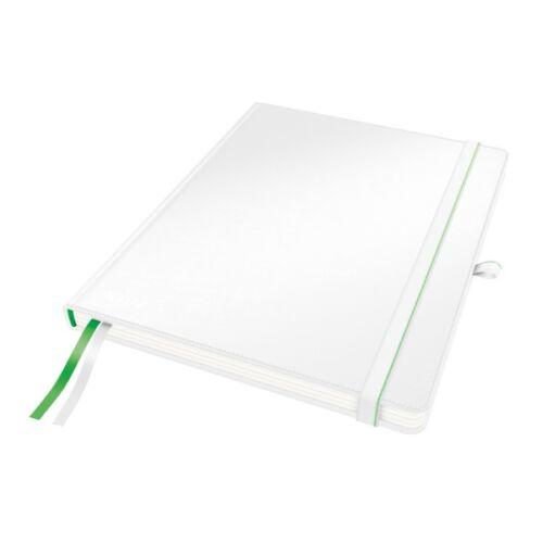 Jegyzetfüzet LEITZ Complete ipad 80 lapos kockás fehér