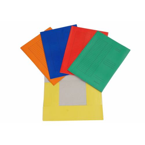 Iratgyűjtő CLARISSA pólyás zöld