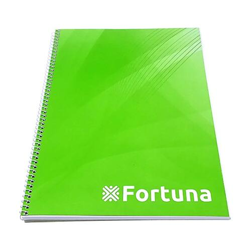 Spirálfüzet FORTUNA Basic A/4 70 lapos sima