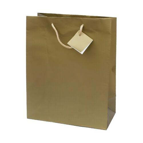 Dísztasak Special Simple L 26x32x12 arany