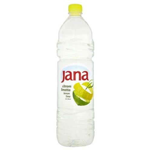 Ásványvíz szénsavmentes JANA citrom-lime 1,5L