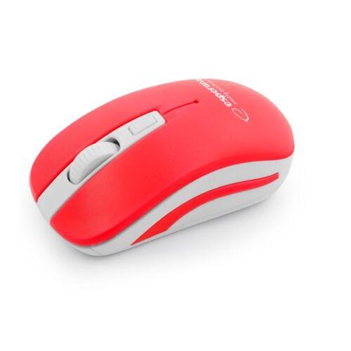 Egér ESPERANZA URANUS 4D vezeték nélküli fehér/piros