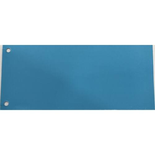 Elválasztócsík FORTUNA 105x235mm kék 100 db/csomag
