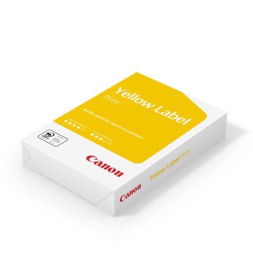 Fénymásolópapír CANON Yellow Label Print A/4 80 gr (500 ív/csomag)
