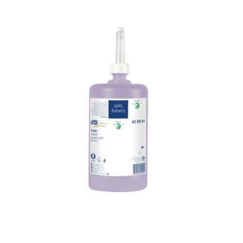 Folyékony szappan Tork Luxus Soft Premium S1 jázmin illatú 1L