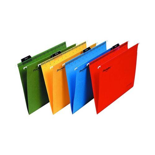 Függőmappa ESSELTE Classic A/4 újrahasznosított karton kék 25 db/doboz