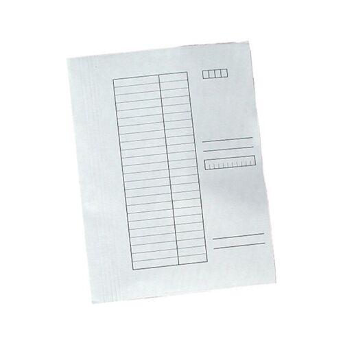 Gyorsfűző FORTUNA papír fehér