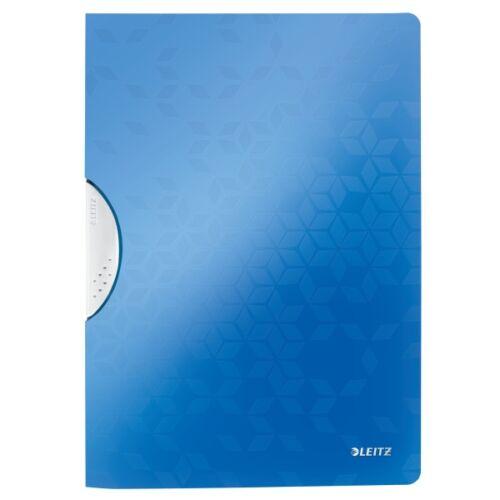 Gyorsfűző LEITZ Wow Colorclip A/4 kék