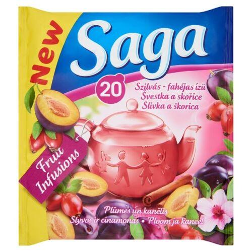 Gyümölcs tea SAGA Fahéjas Szilva 20 filter