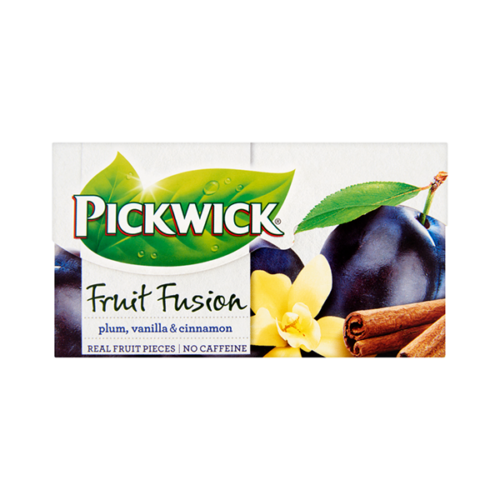 Gyümölcstea PICKWICK Fruit Amour gyüm.szilva-vanília-fahéj 20x2g