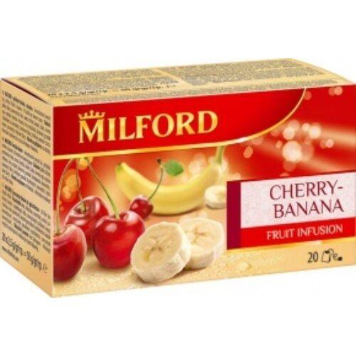 Gyümölcstea MILFORD cseresznye-banán 20x2,5g