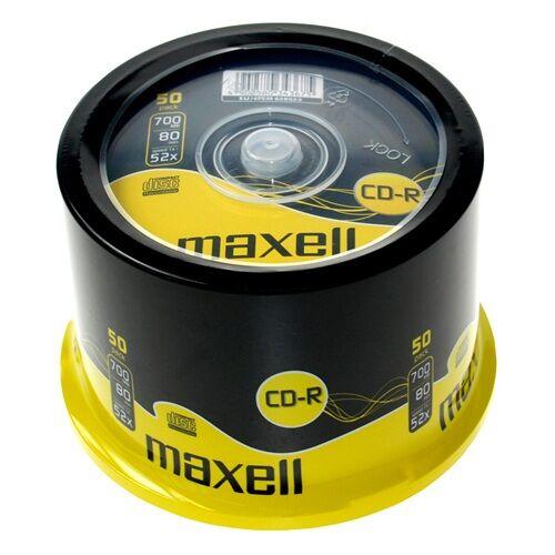 ÍRHATÓ CD MAXELL 700MB 50 db/HENGER