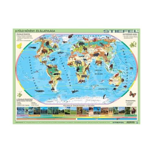 Íróalj STIEFEL Világ állatai élőhelyekkel