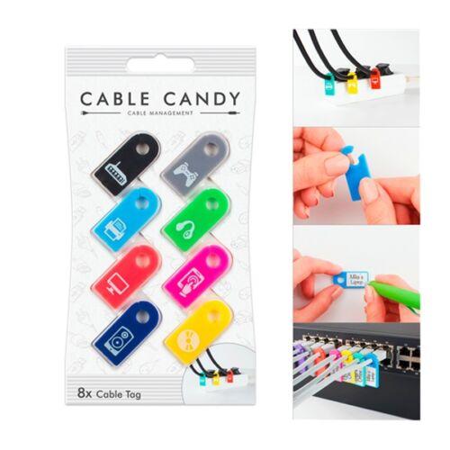 Kábeljelző címke CABLE CANDY vegyes színek
