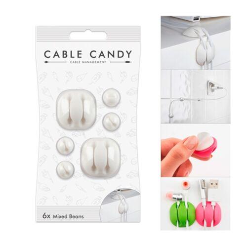 Kábelvezető CABLE CANDY gumi tappancs vegyes
