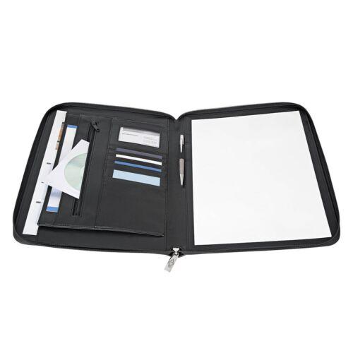 Konferencia mappa Wedo A/4 zip-záras jegyzettel zsebekkel tolltartóval