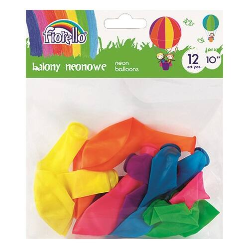 """Lufi FIORELLO 10"""" 12db-os vegyes színek"""