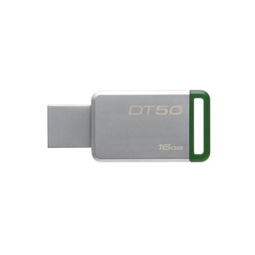 Pendrive KINGSTON DT 50 USB 3.0 16GB zöld