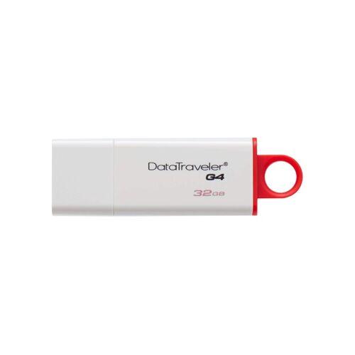 Pendrive KINGSTON DT G4 USB 3.0 32GB fehér-piros