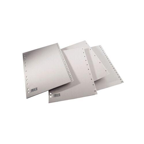 Regiszter SPOKO A/4 műanyag A-Z