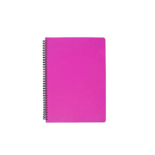 Spirálfüzet COLOR NOTE A/4 PP borító 70 lapos pink