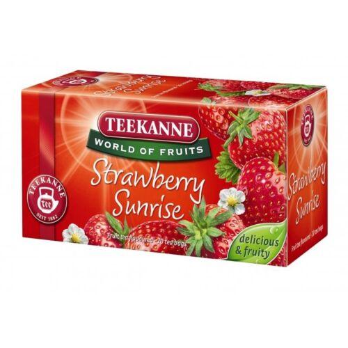 Gyümölcstea TEEKANNE Strawberry Sunrise