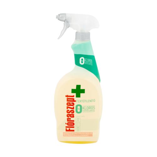 Tisztítószer fertőtlenítő Flóraszept 700ml spray univerzális 0% klór