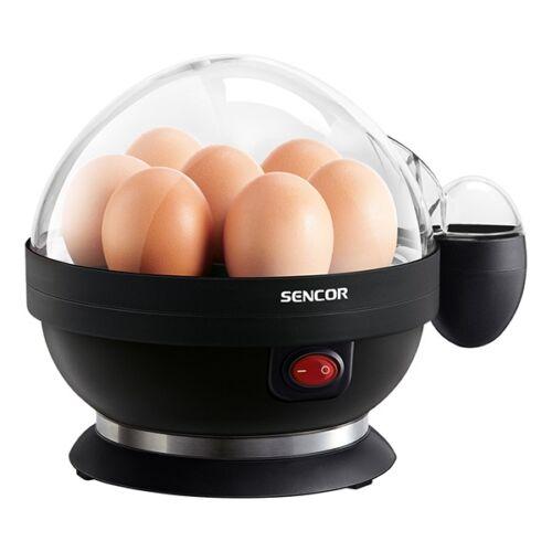 Tojásfőző SENCOR SEG 710BP 7 tojás 3 fokozat fekete